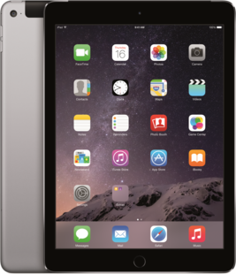 APPLE iPad Air 2, 12/8GB, Wi-Fi, 3G, šedá